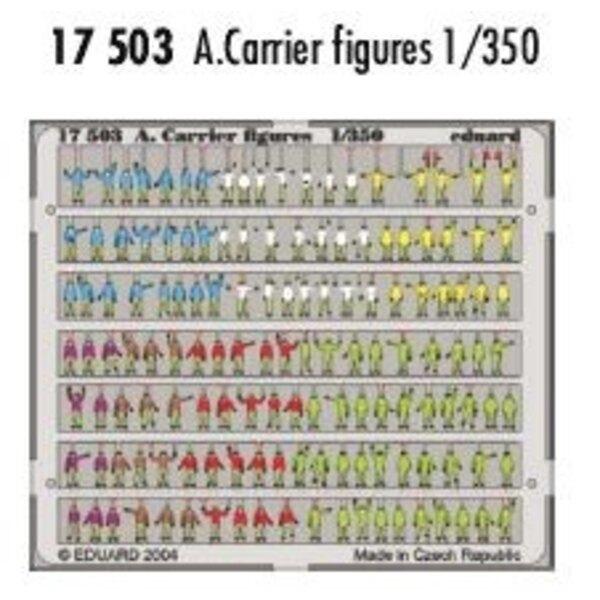 Les figurines de Porte-avions pré-peintes en couleur