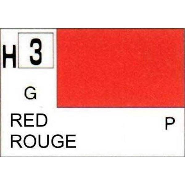 H003 Rouge brillant