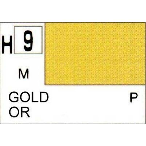 H009 Gold Metal