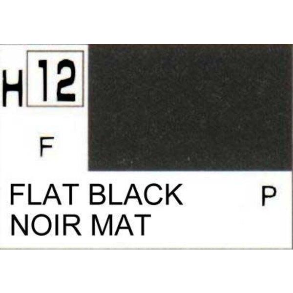 H012 Matt Black