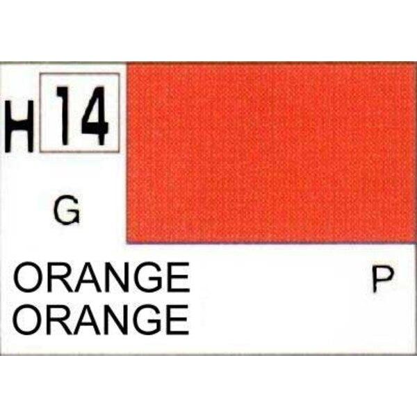 H014 Orange brillant