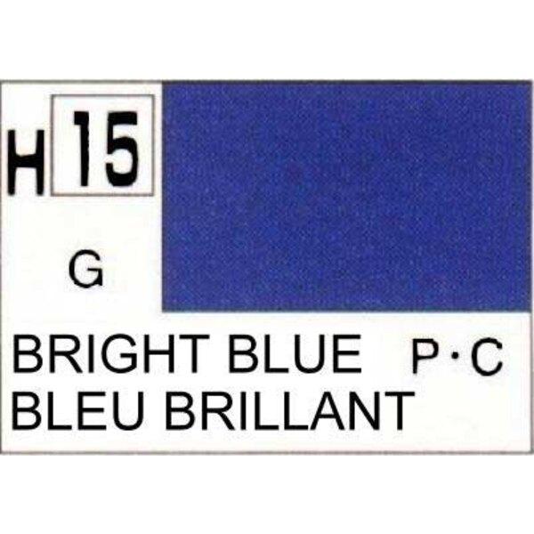 H015 Bleu vif brillant