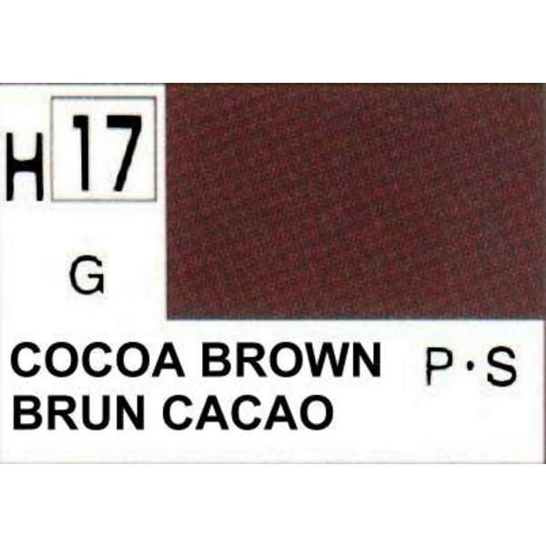 H017 Brun-cacao