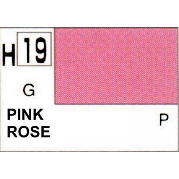 H019 Rose brillant