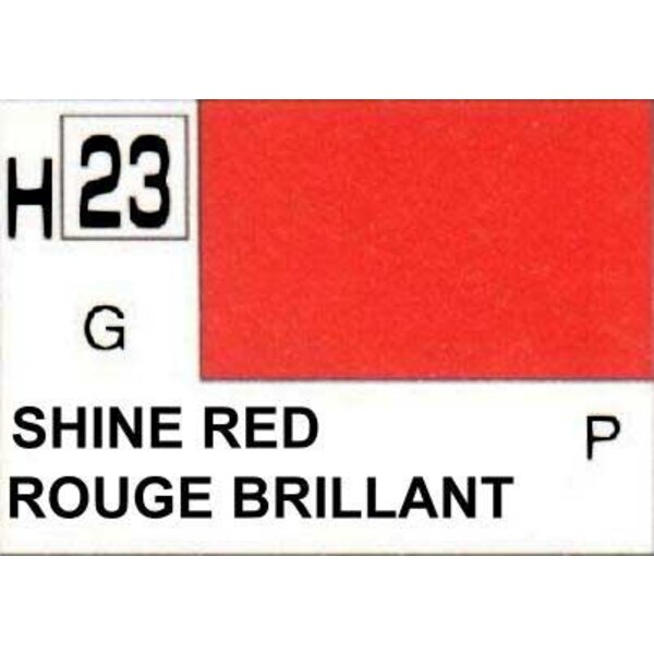 H023 Rouge luisant