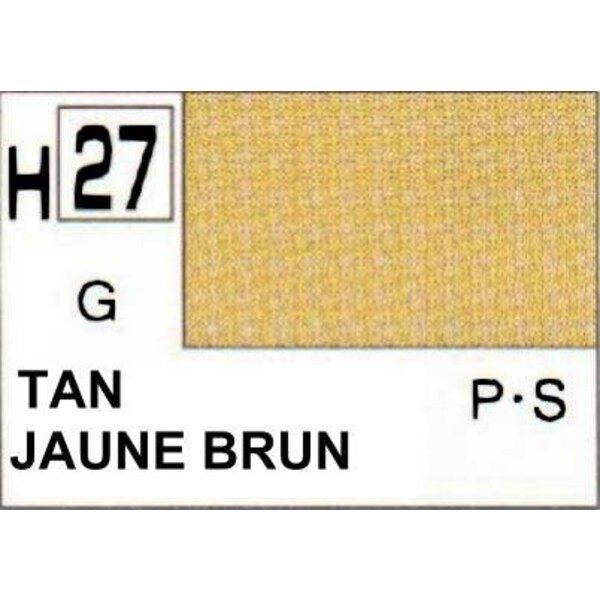 H027 Jaune Brun brillant