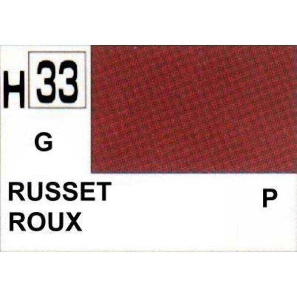 H033 Roux brillant
