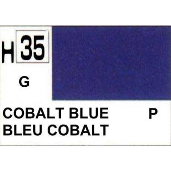 H035 Bleu cobalt brillant