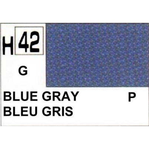 H042 Gris Bleu brillant