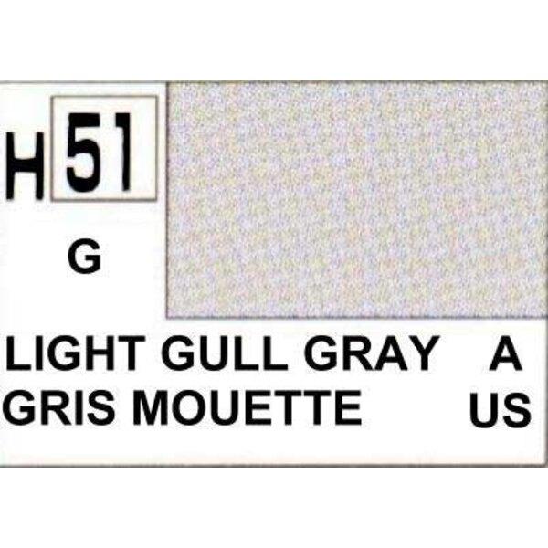 H051 Shining Sea Gull Grey gloss