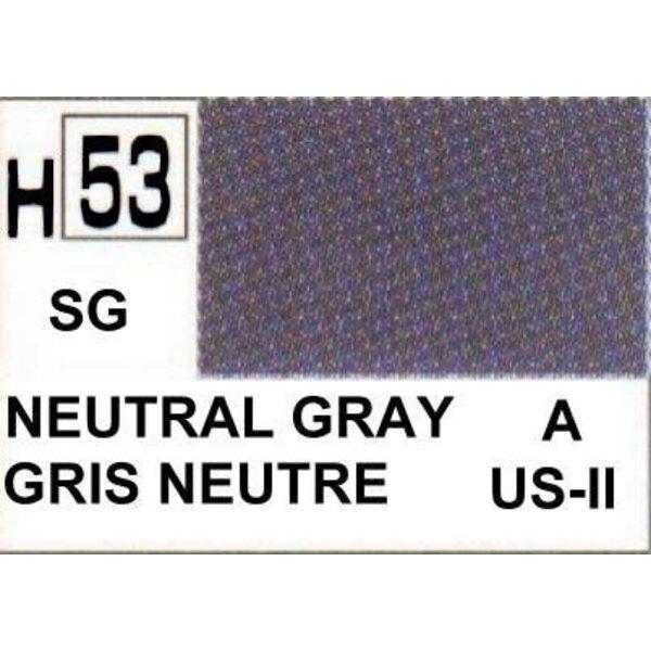 H053 Gris neutre mat