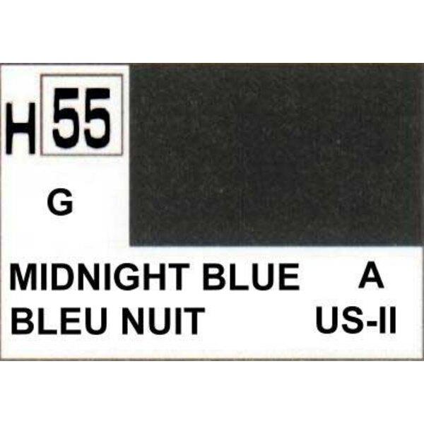 H055 Bleu nuit brillant