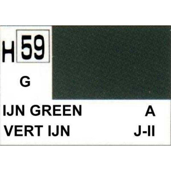 H059 Vert IJN brillant