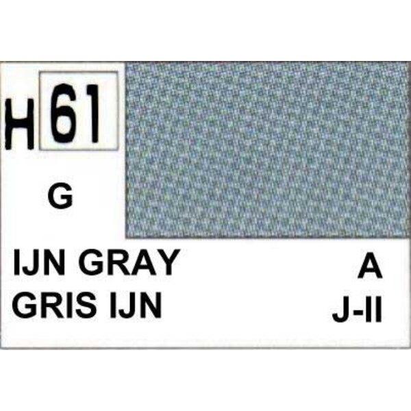 H061 Gris IJN brillant