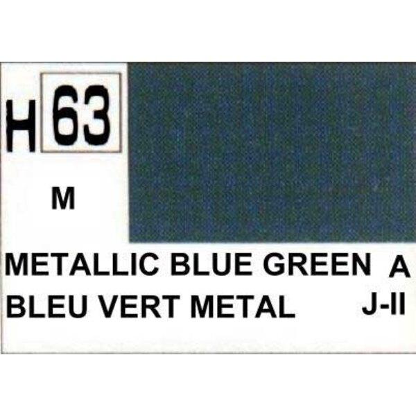 H063 Vert-Bleu Métallique