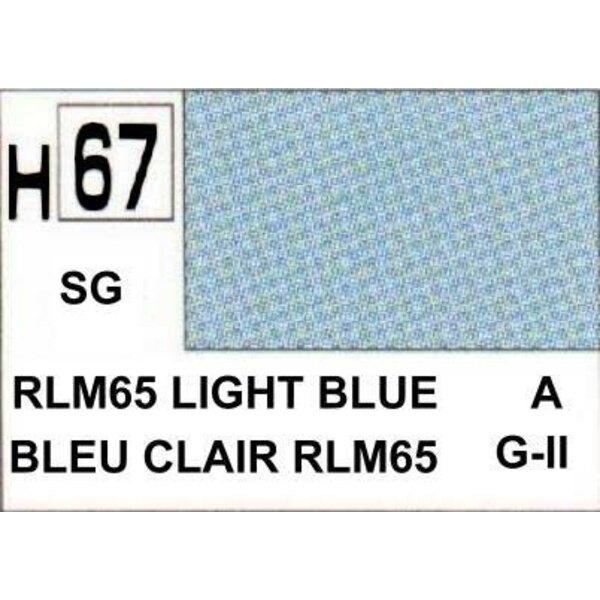 H067 Light Blue matt