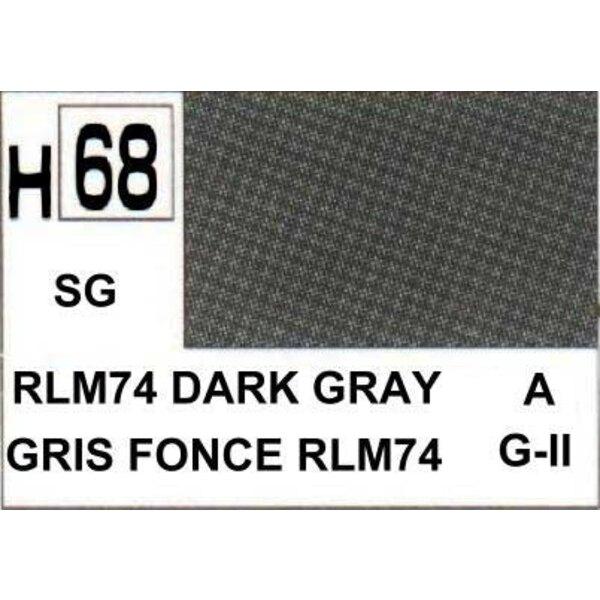 H068 Dark Grey matt