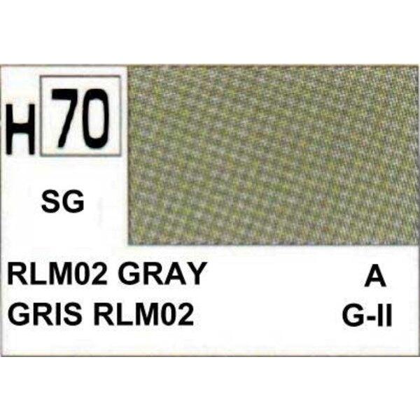 H070 Grey / Green matt