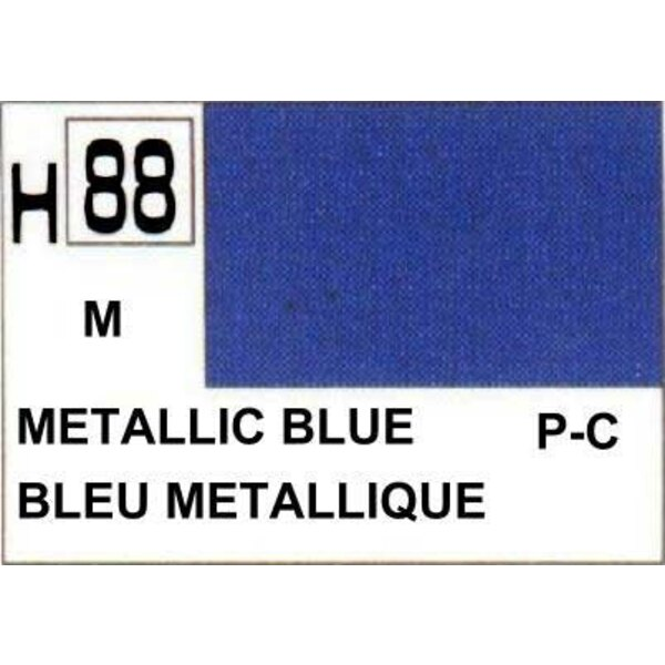H088 Bleu Métallique brillant