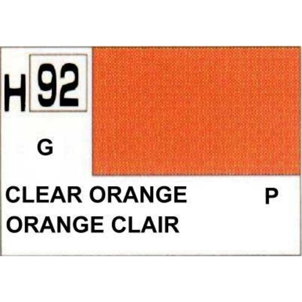 H092 Orange transparent