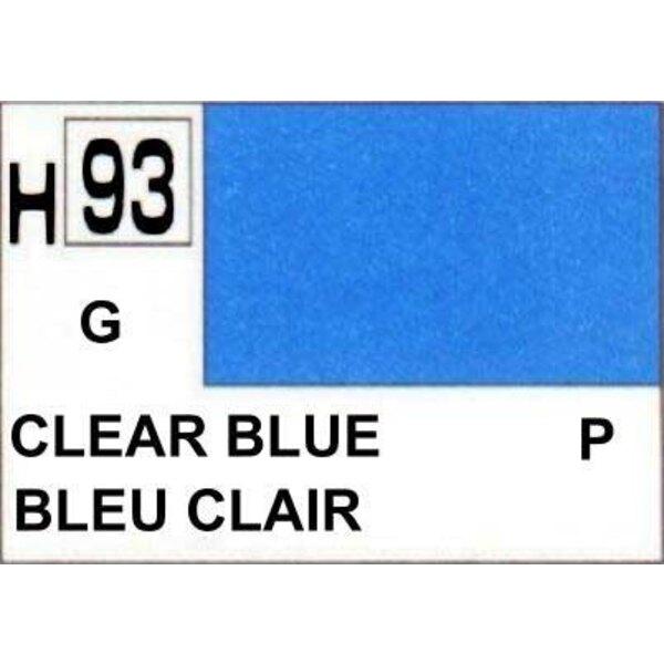 H093 Clear Blue