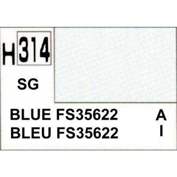 H314 Bleu FS35622 mat