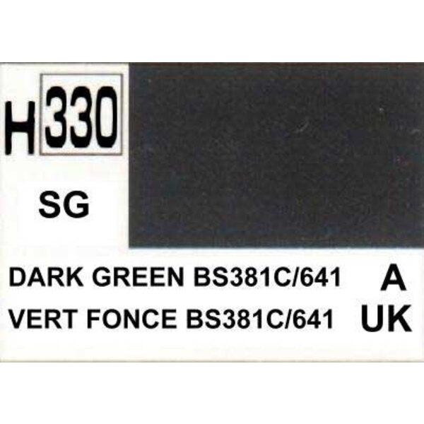H330 Vert foncé BS831c 1/641