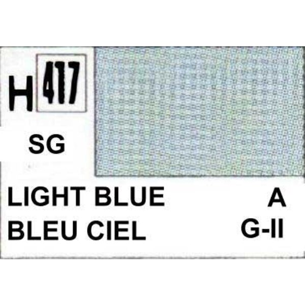 H417 Bleu RLM 76 satine