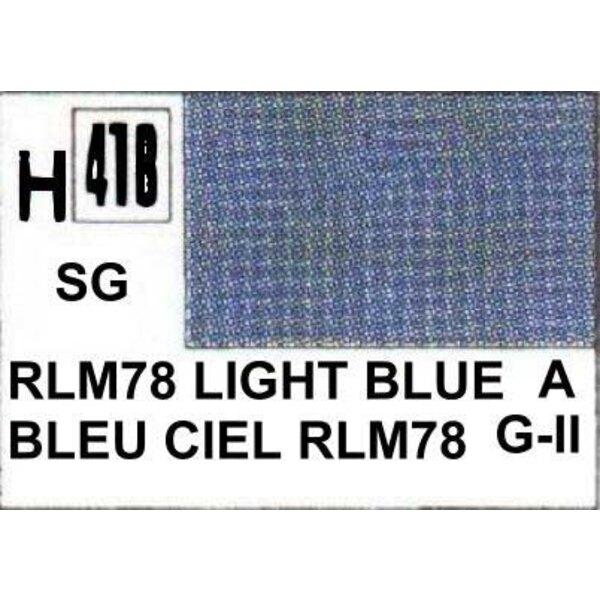 H418 Bleu RLM 78 satine