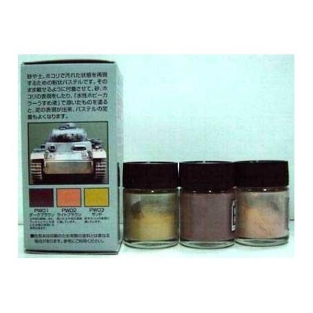 weathering pastel set 1