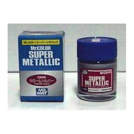 SM06 Mr.Super Argent chrome