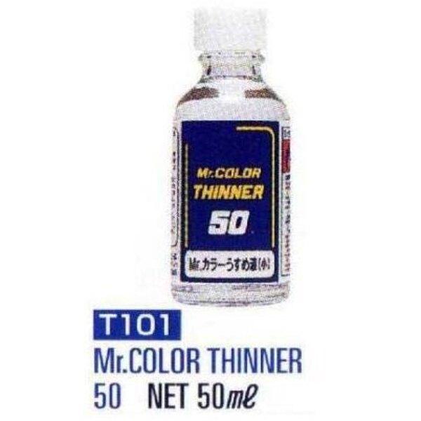 T101 Thinner 50 ml (2 floz) Enamel