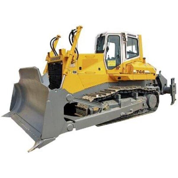 bulldozer liebherr 1/87