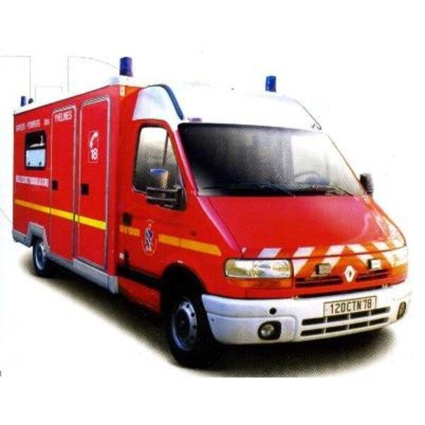 Renault master pompier 1/50