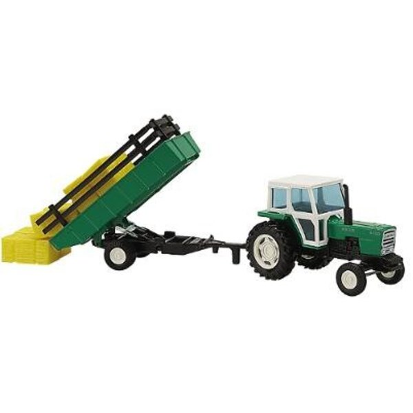 tracteur ebro+remorque 255mm