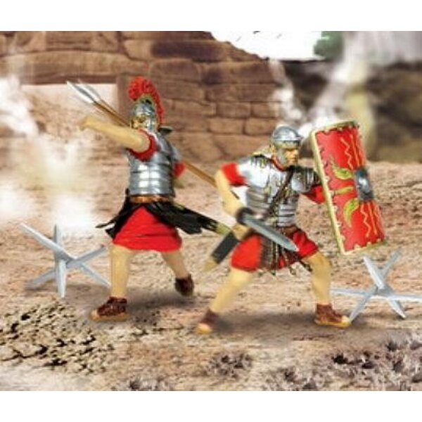 2 Roman Soldiers + Accessories 1:32