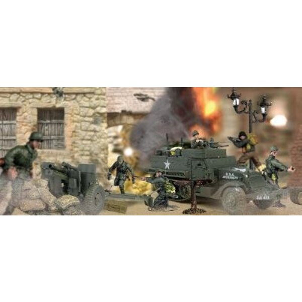 m3a1+howitzer france 44 1/72