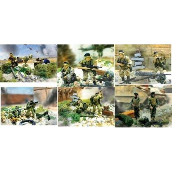 assault bravo team soldier x12 1/32