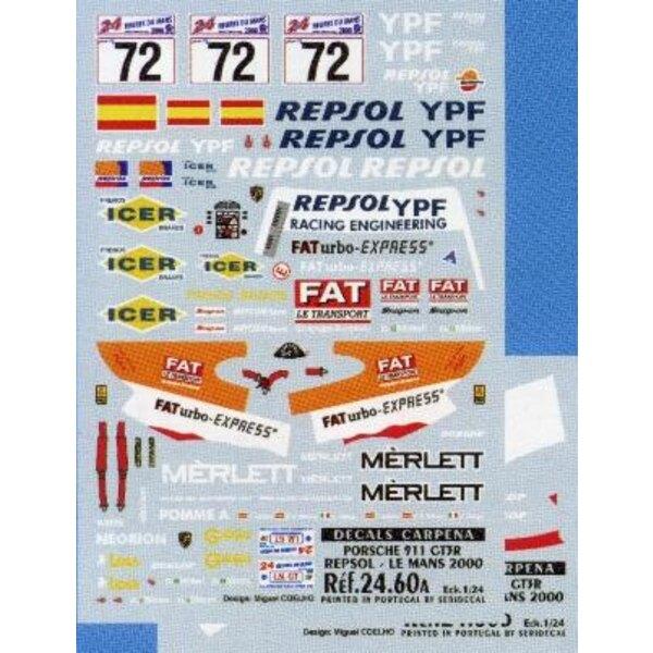 Porsche Repsol 72 Le Mans 2000 1:24
