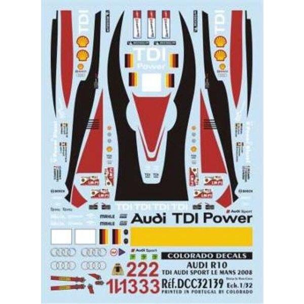 Audi R10 Sport Lm 2008 1:32
