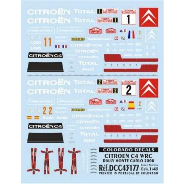 c4 loeb-sordo m.c.2008 1/43