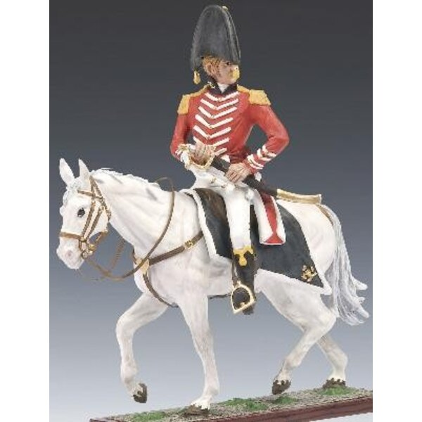 major henry percy a cheval 1/24