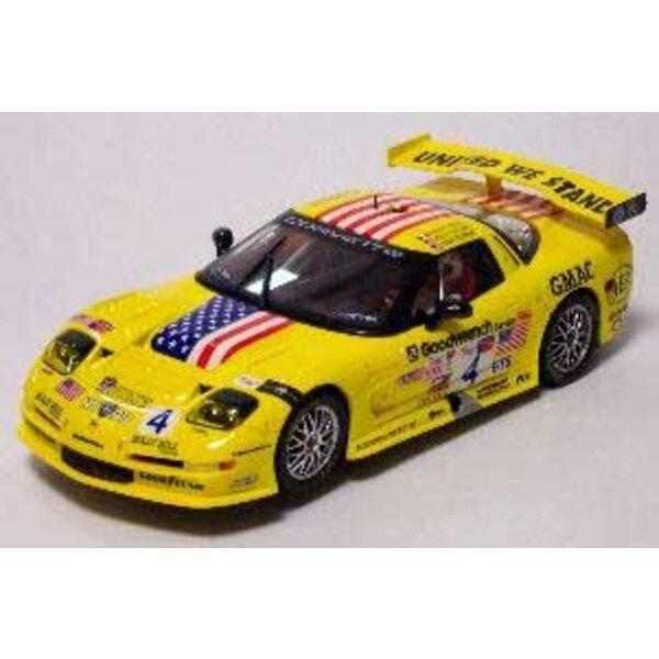 Chevrolet Corvette C5R US yellow light