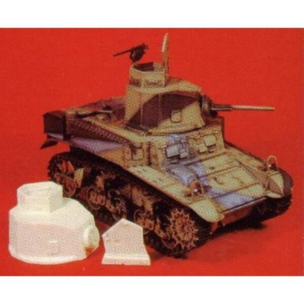 Tourelle M3 Stuart Honey 1/35
