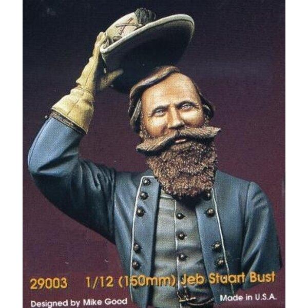 Buste de Jeb Stuart 150mm