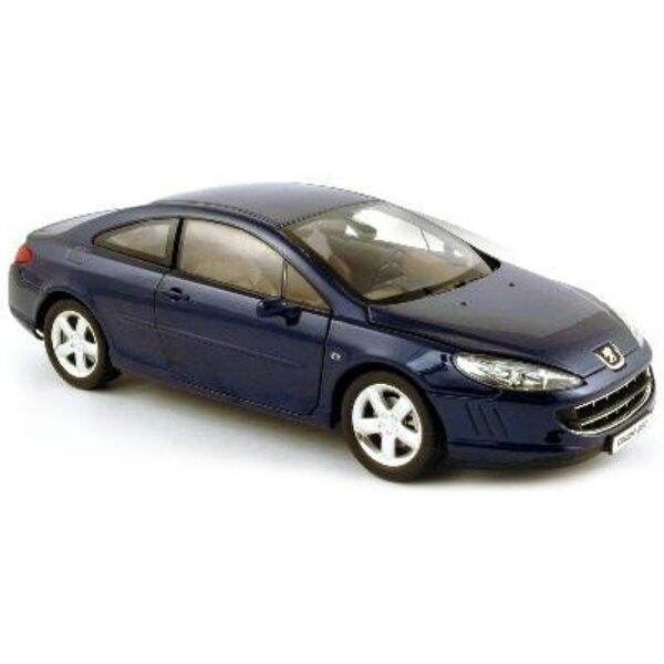 407 coupe bleu montebell06 1/18
