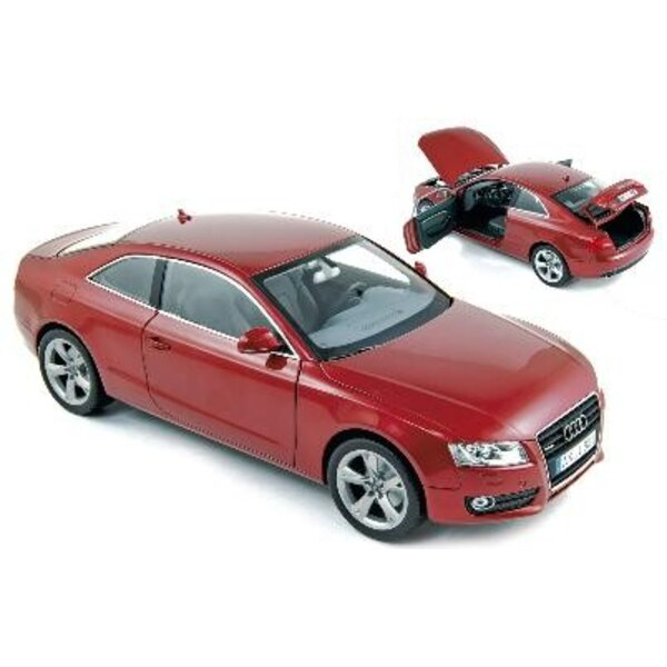 Audi A5 Coupe 2007 Red 1:18