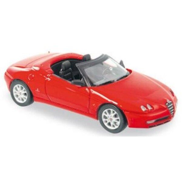Alfa Romeo Spider 03 Red 1:43
