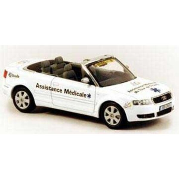 Audi A4 Convertible Assis.Medicale 1:43