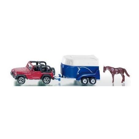 voiture+remorque chevaux 3pou